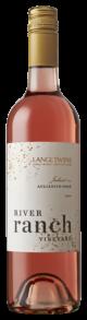 Bottle shot of the 2019 Single Vineyard Aglianico Rose